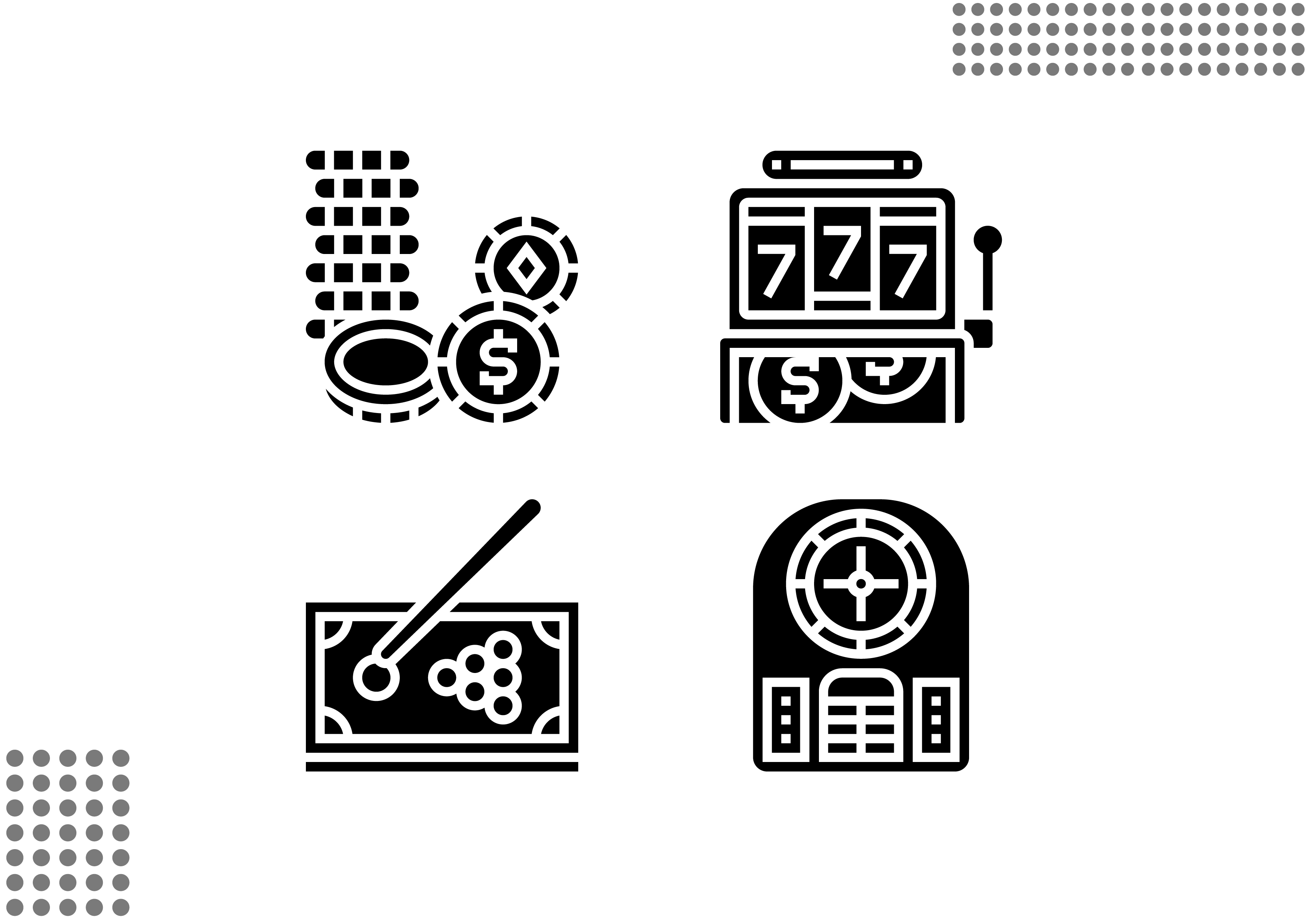 Download Free Casino Fill Graphic By Cool Coolpkm3 Creative Fabrica for Cricut Explore, Silhouette and other cutting machines.