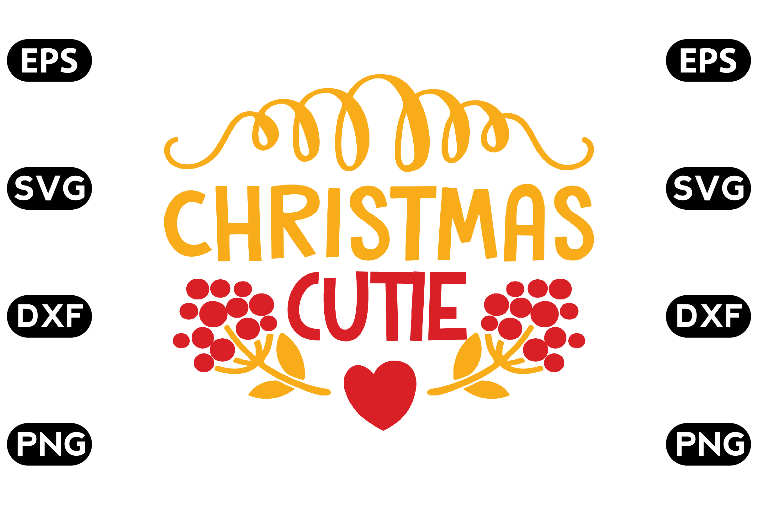 Download Free Christmas Cutie Graphic By Svg Store Creative Fabrica for Cricut Explore, Silhouette and other cutting machines.