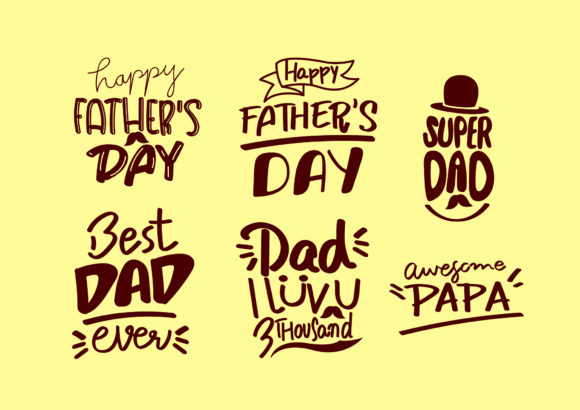 Father's Day Graphic Illustrations By BB Digital Arts