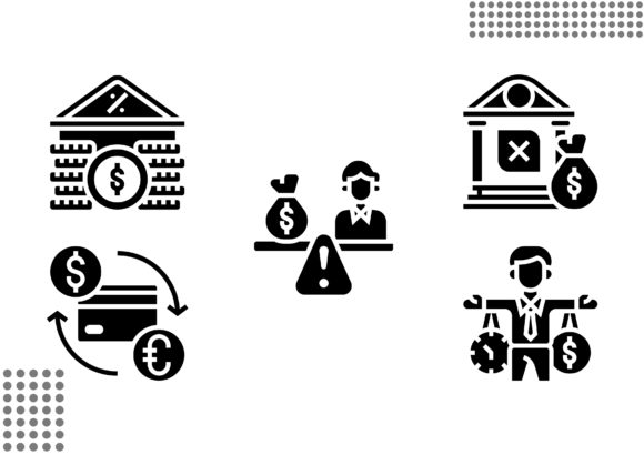 Download Free Financial Crisis Fill Graphic By Cool Coolpkm3 Creative Fabrica for Cricut Explore, Silhouette and other cutting machines.