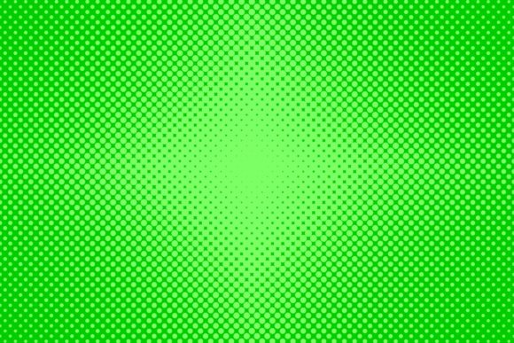 Download Free Green Halftone Dot Pattern Graphic By Davidzydd Creative Fabrica for Cricut Explore, Silhouette and other cutting machines.