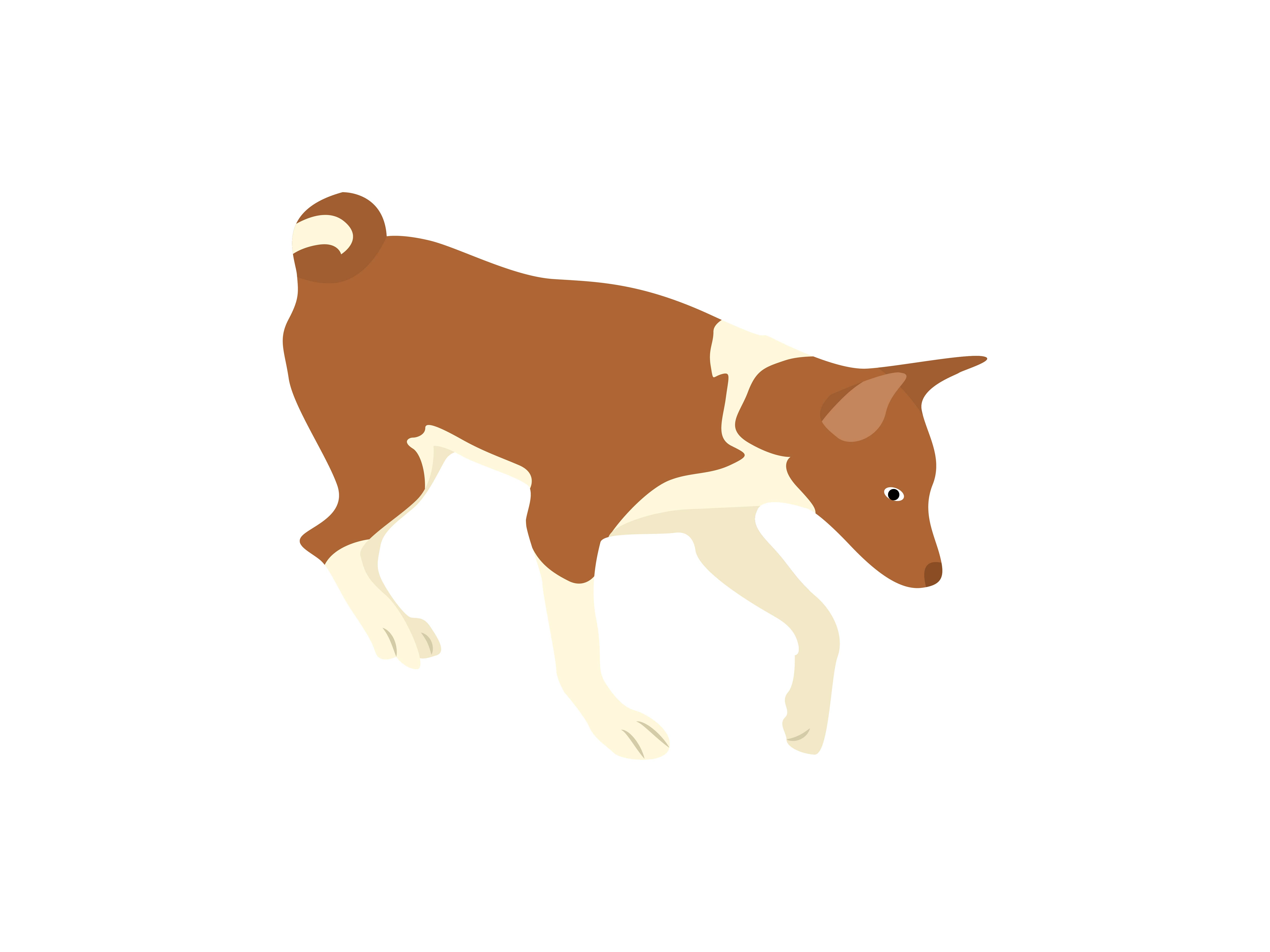 Download Free Jack Russell Terrier Dog Digging Animal Graphic By Archshape SVG Cut Files