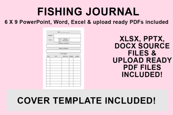 Print on Demand: KDP Interior - Fishing Journal Graphic KDP Interiors By Bowes Publishing