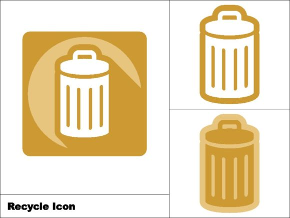 Download Free Recycle Icon 3 Model Graphic By Novieart 99 Creative Fabrica for Cricut Explore, Silhouette and other cutting machines.