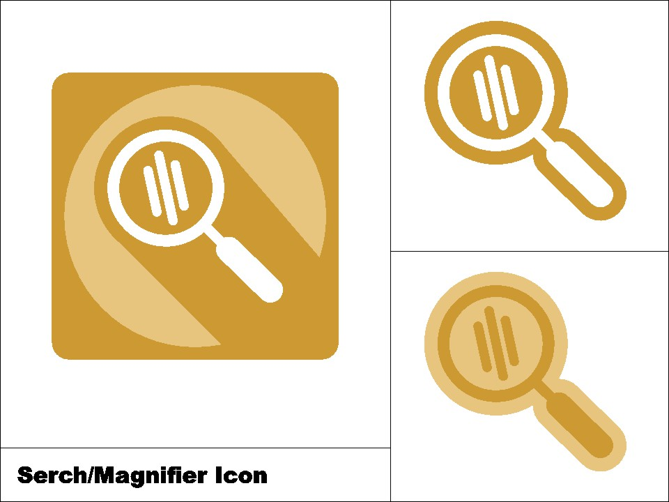 Download Free Search Magnifier Icon 3 Model Graphic By Novieart 99 Creative for Cricut Explore, Silhouette and other cutting machines.