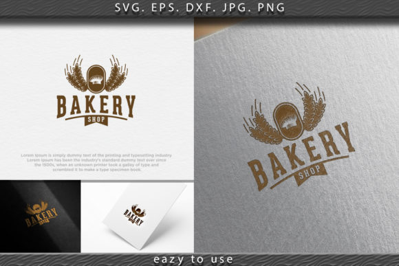 Download Free Chef Hat Vintage Bakery Logo Ideas Graphic By Ojosujono96 for Cricut Explore, Silhouette and other cutting machines.