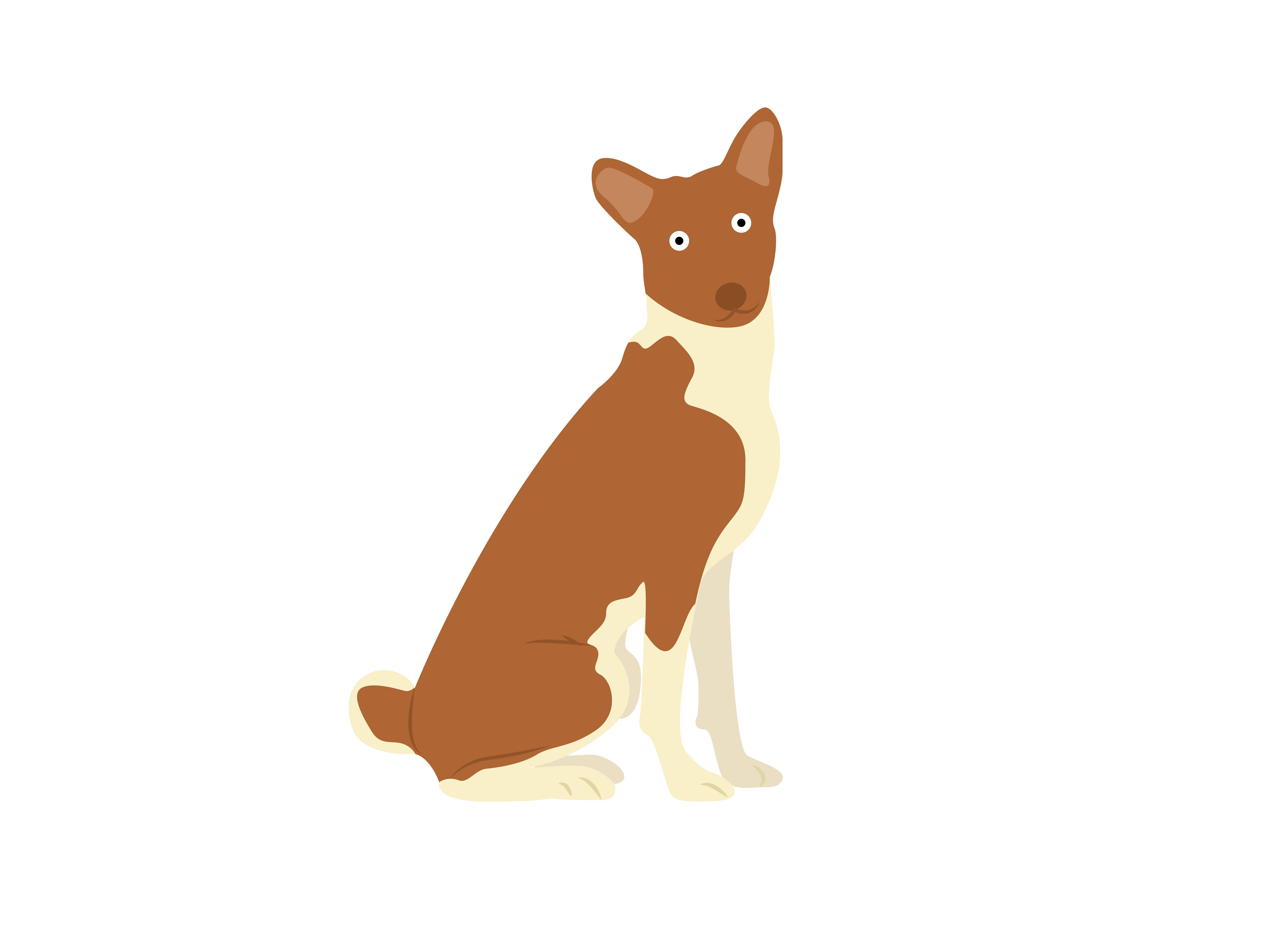Download Free Jack Russell Terrier Sit Dog Animal Graphic By Archshape for Cricut Explore, Silhouette and other cutting machines.