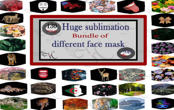 Download Free 1 Natural Face Mask Designs Graphics for Cricut Explore, Silhouette and other cutting machines.