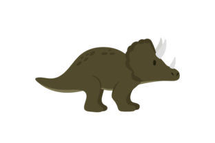 Triceratops Dinosaurs Craft Cut File By Creative Fabrica Crafts