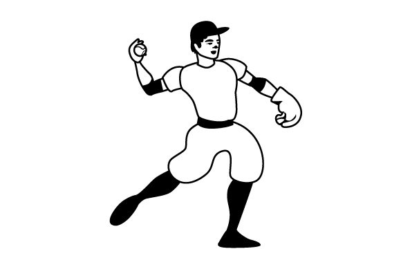 Download Free Softball Pitcher Svg Cut File By Creative Fabrica Crafts for Cricut Explore, Silhouette and other cutting machines.