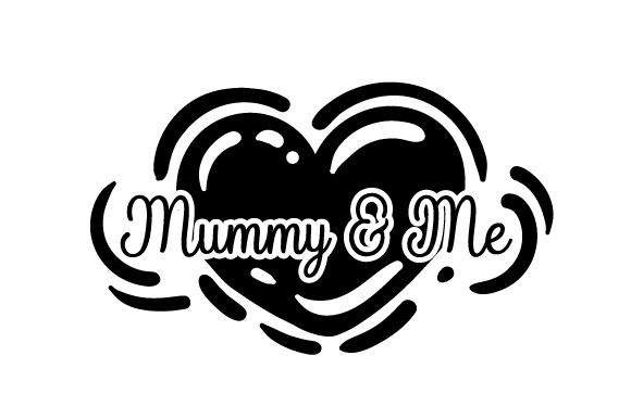 Download Free Mummy And Me Svg Cut File By Creative Fabrica Crafts Creative for Cricut Explore, Silhouette and other cutting machines.