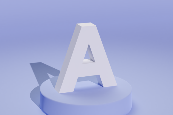 Print on Demand: 3D Alphabet & Numbers Cutting File Set Graphic 3D SVG By gentlemancrafter - Image 3