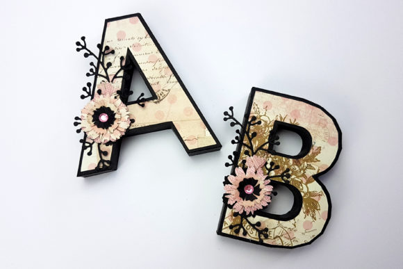 Print on Demand: 3D Alphabet & Numbers Cutting File Set Graphic 3D SVG By gentlemancrafter - Image 9
