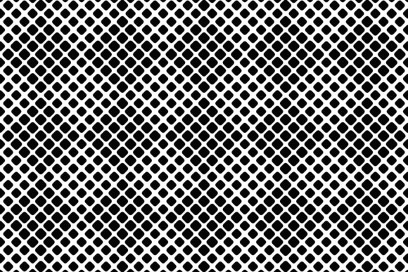Abstract Black and White Square Pattern Graphic Patterns By davidzydd