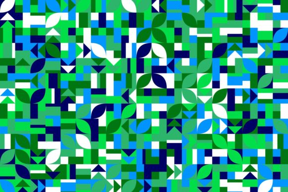 Download Free Abstract Geometric Pattern Background Graphic By Davidzydd for Cricut Explore, Silhouette and other cutting machines.