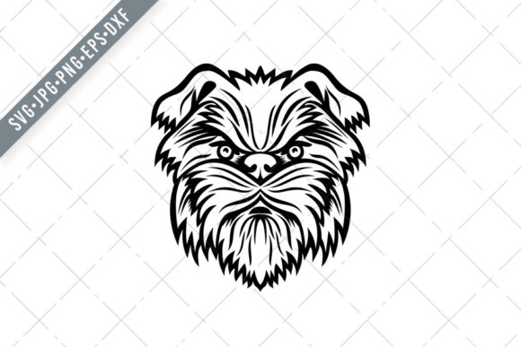 Download Free Affenpinscher Monkey Terrier Dog Graphic By Patrimonio for Cricut Explore, Silhouette and other cutting machines.