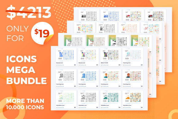 Print on Demand: All Icons Mega Bundle  By Goodware.Std