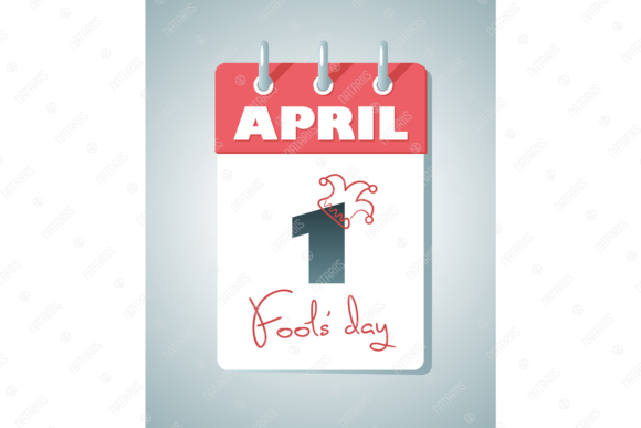 Download Free April 1st Fools Day Vector Graphic By Natariis Studio for Cricut Explore, Silhouette and other cutting machines.