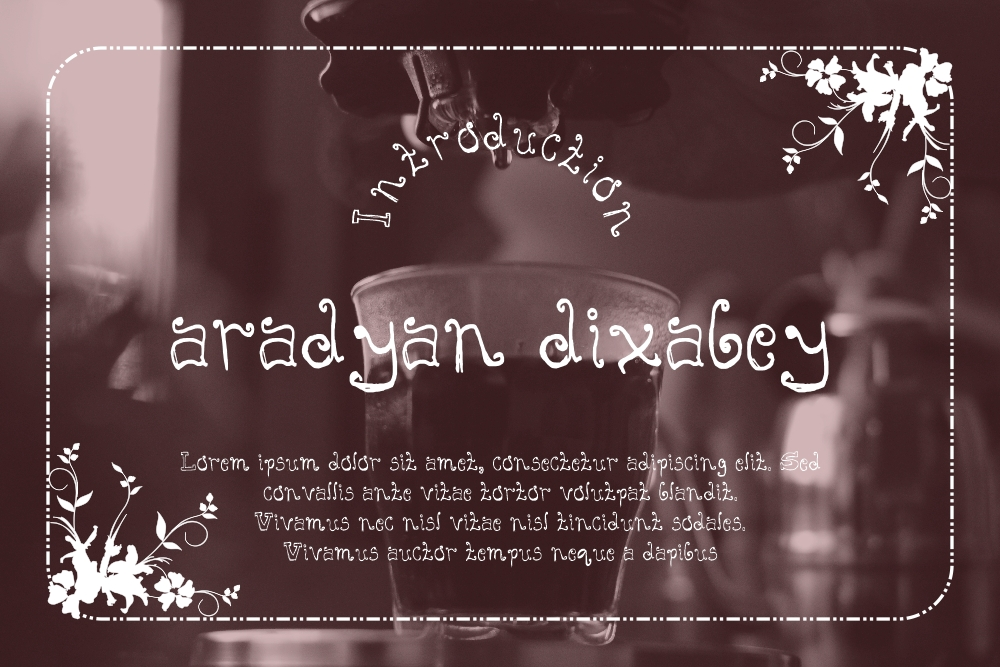 Download Free Aradyan Dixabey Font By Gblack Id Creative Fabrica for Cricut Explore, Silhouette and other cutting machines.