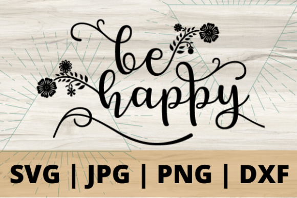 Print on Demand: Be Happy Graphic Crafts By Talia Smith - Image 1
