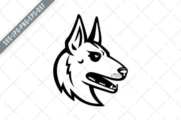 Download Free Belgian Malinois Belgian Shepherd Graphic By Patrimonio for Cricut Explore, Silhouette and other cutting machines.