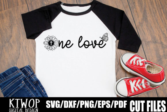 Print on Demand: One Love Graphic Crafts By KtwoP
