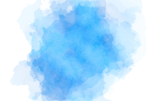 Print on Demand: Blue Turquoise Watercolor Wash Splashes Graphic Backgrounds By Prawny 6