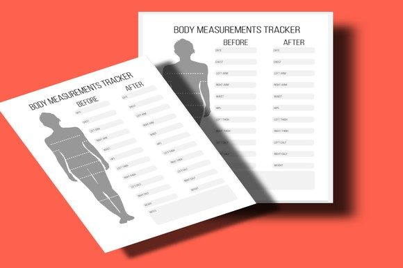 Download Free Body Measurements Tracker Graphic By Mcharrachy Creative Fabrica for Cricut Explore, Silhouette and other cutting machines.