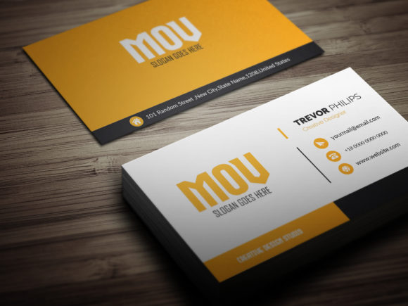 Download Free Pro Business Card Template Graphic By Sojibshariyar Creative for Cricut Explore, Silhouette and other cutting machines.