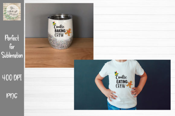 Print on Demand: Cookie Baking and Cookie Eating Crew Graphic Print Templates By You Make It Personal