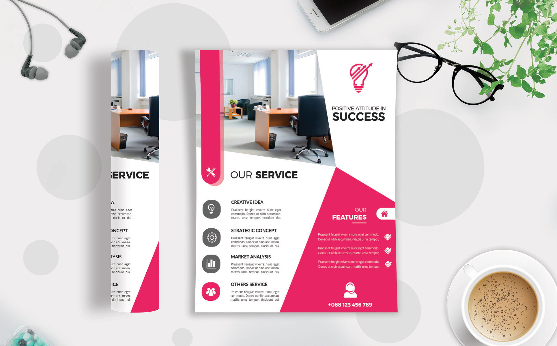 Download Free Corporate Business Flyer Template V 103 Graphic By Imagine for Cricut Explore, Silhouette and other cutting machines.