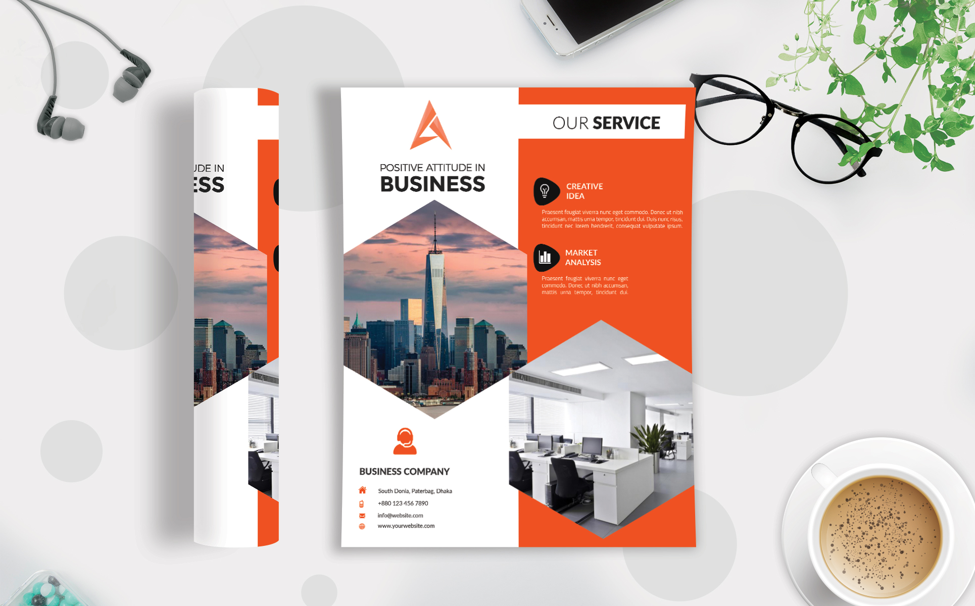 Corporate Business Flyer Template V 111 Graphic By Imagine