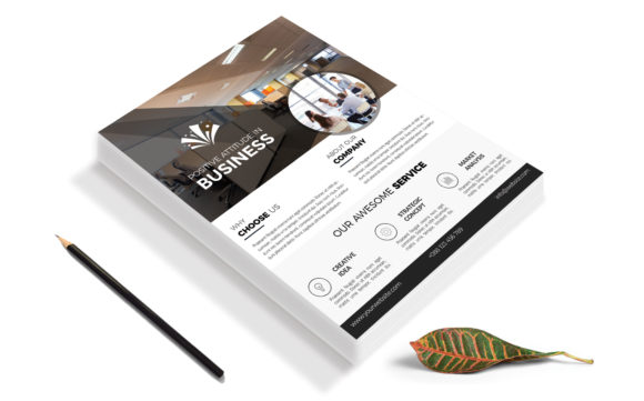 Download Free Corporate Business Flyer Template V 134 Graphic By Imagine for Cricut Explore, Silhouette and other cutting machines.