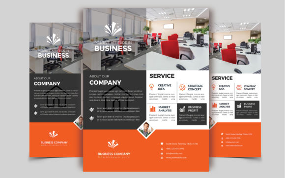 Download Free Corporate Business Flyer Template V 137 Graphic By Imagine SVG Cut Files