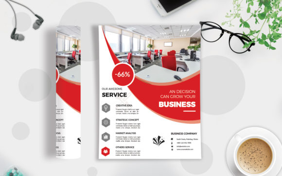 Download Free Corporate Business Flyer Template V 138 Graphic By Imagine for Cricut Explore, Silhouette and other cutting machines.