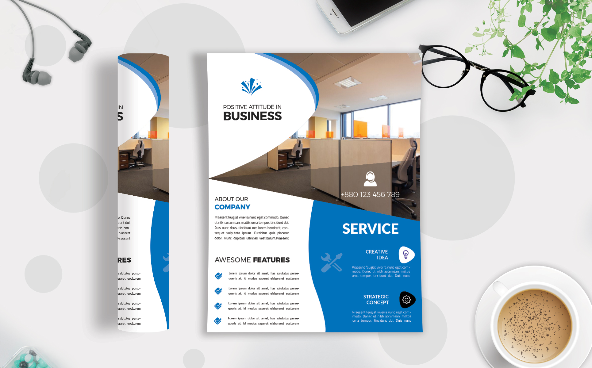Download Free Corporate Business Flyer Template V 181 Graphic By Imagine for Cricut Explore, Silhouette and other cutting machines.