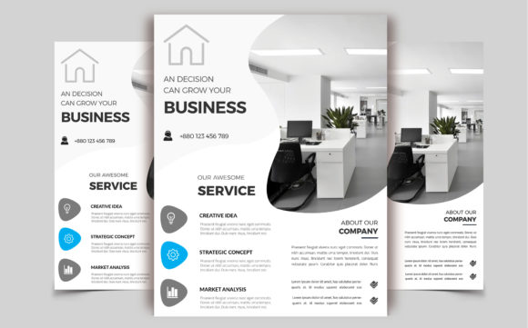 Download Free Corporate Business Flyer Template V 192 Graphic By Imagine for Cricut Explore, Silhouette and other cutting machines.