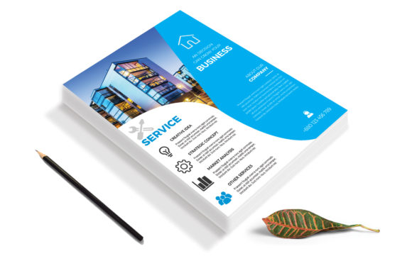 Download Free Corporate Business Flyer Template V 195 Graphic By Imagine for Cricut Explore, Silhouette and other cutting machines.