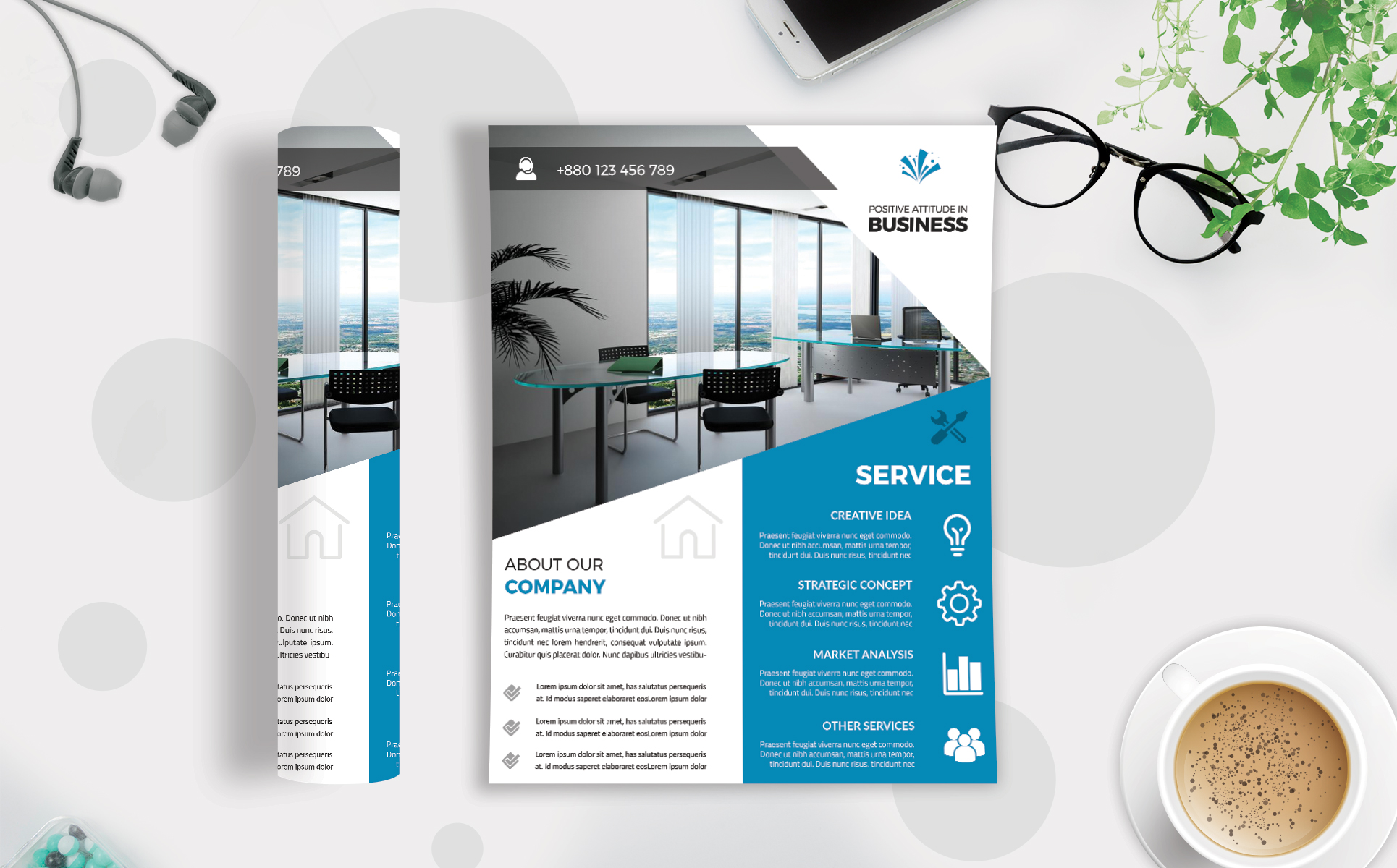 Download Free Corporate Business Flyer Template V 200 Graphic By Imagine for Cricut Explore, Silhouette and other cutting machines.