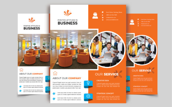 Download Free Corporate Business Flyer Template V 203 Graphic By Imagine for Cricut Explore, Silhouette and other cutting machines.