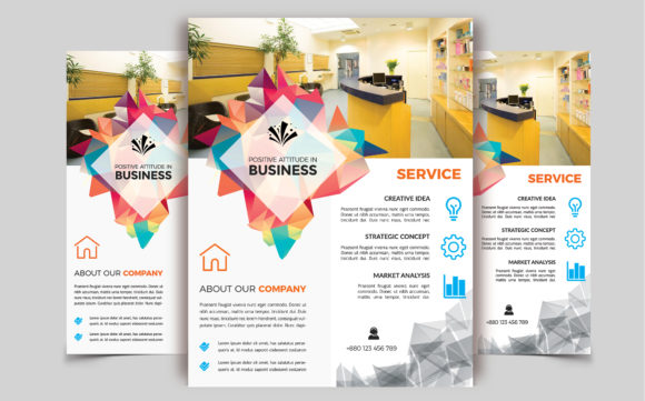 Download Free Corporate Business Flyer Template V 207 Graphic By Imagine for Cricut Explore, Silhouette and other cutting machines.