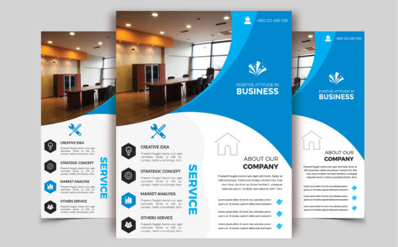 Download Free Corporate Business Flyer Template V 208 Graphic By Imagine for Cricut Explore, Silhouette and other cutting machines.