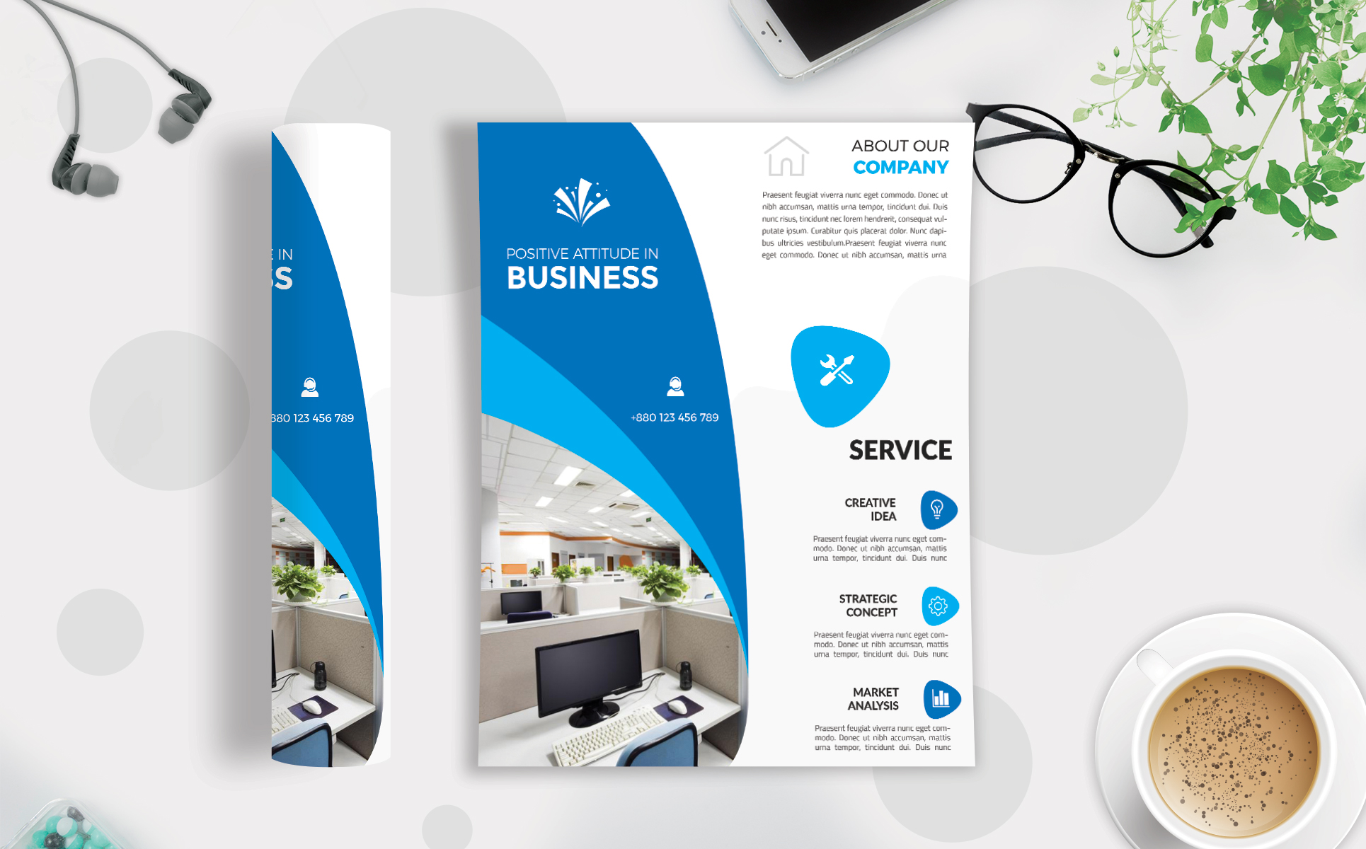 Download Free Corporate Business Flyer Template V 216 Graphic By Imagine for Cricut Explore, Silhouette and other cutting machines.