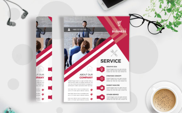 Corporate Business Flyer Template V 208 Graphic By Imagine