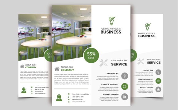 Download Free Corporate Business Flyer Template V 235 Graphic By Imagine for Cricut Explore, Silhouette and other cutting machines.