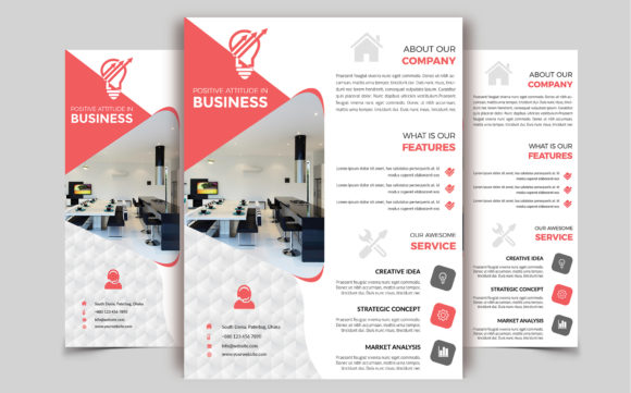Corporate Business Flyer Template V 236 Graphic By Imagine