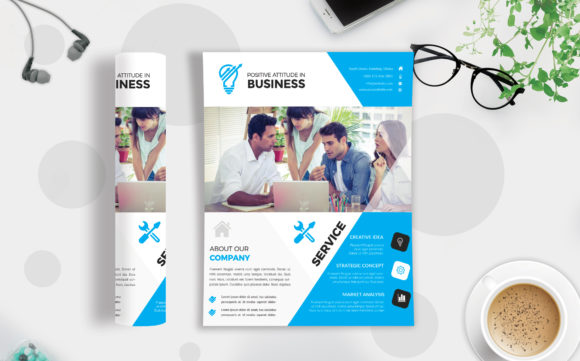 Download Free Corporate Business Flyer Template V 241 Graphic By Imagine for Cricut Explore, Silhouette and other cutting machines.