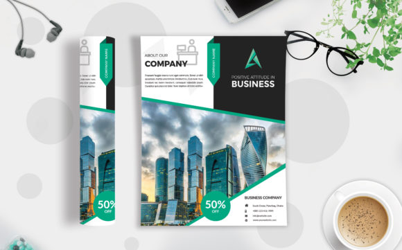 Download Free Corporate Business Flyer Template Vol 80 Graphic By Imagine SVG Cut Files
