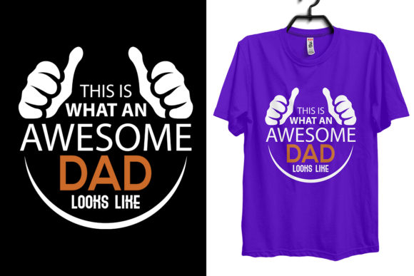 Download Free Dad Father S Day T Shirt Design Graphic By Storm Brain for Cricut Explore, Silhouette and other cutting machines.