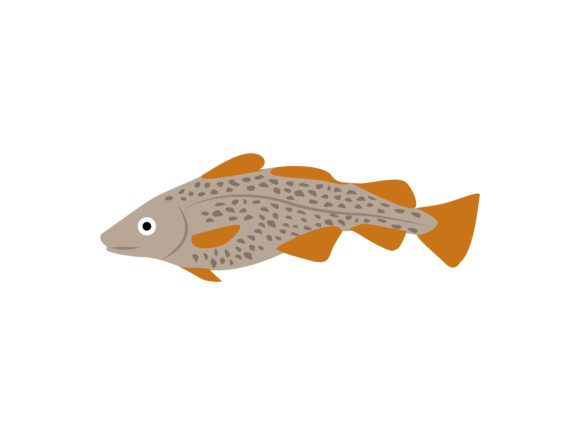Download Free Epinephelus Bleekeri Fish Animal Graphic By Archshape Creative for Cricut Explore, Silhouette and other cutting machines.